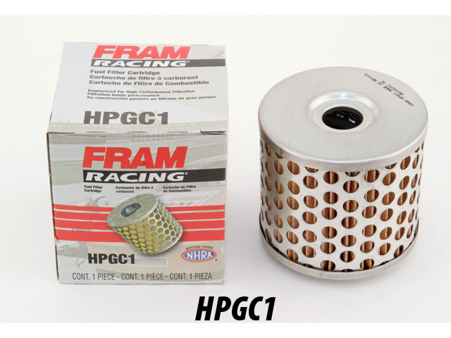 fram hpgc1 fuel filter racing fram hpg1 fuel filter