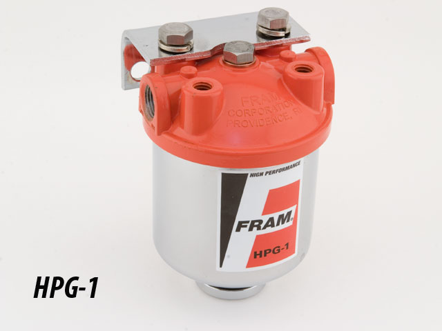race ready > fram racing fuel filter fram hpgc1 fuel filter racing fram canister fuel filter